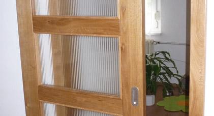 Výroba dýhovaných dveří